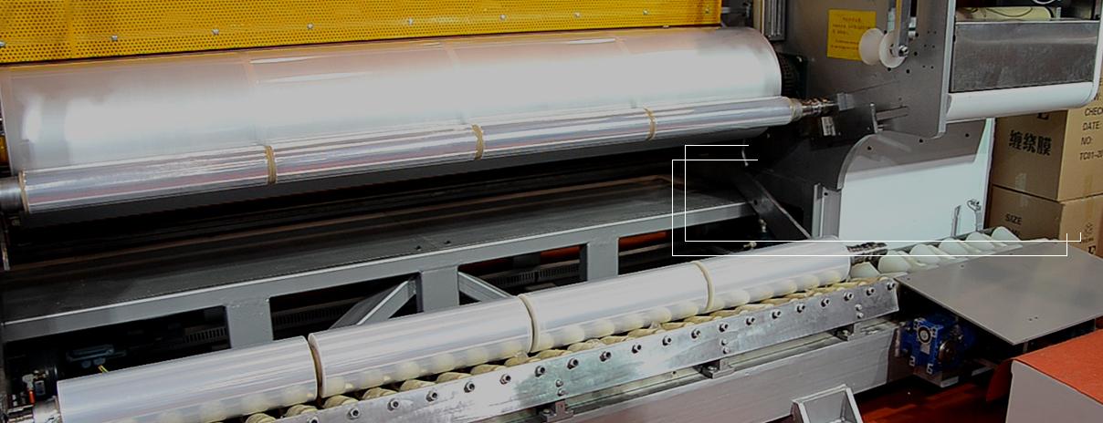 全自动穿纸管卸卷装置: